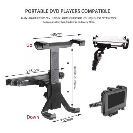 appuie tête lecteur dvd portable les comparateurs